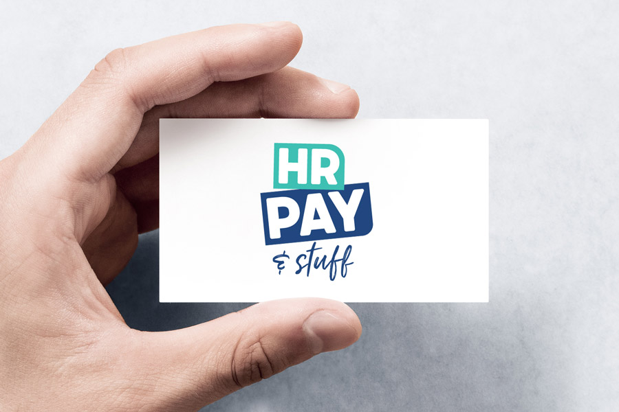 Logo Design for HR Pay & Stuff who is a business consultant