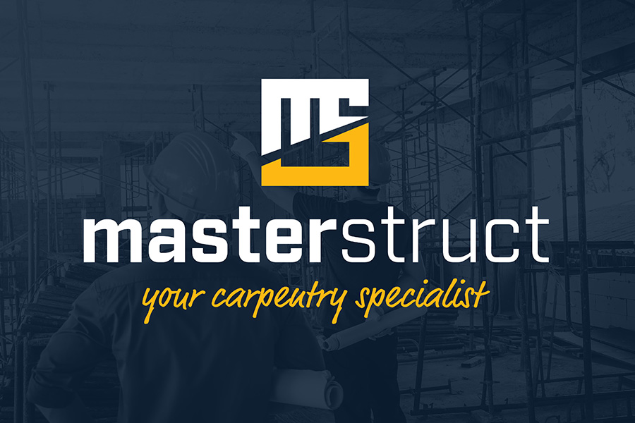 Logo Design for Masterstruct who is a carpentry specialist