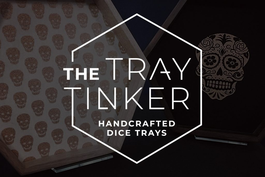 Logo Design for The Tray Tinker who make Handcrafted Dice Trays