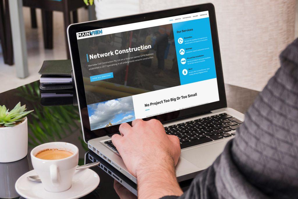 Construction Website Design Melbourne