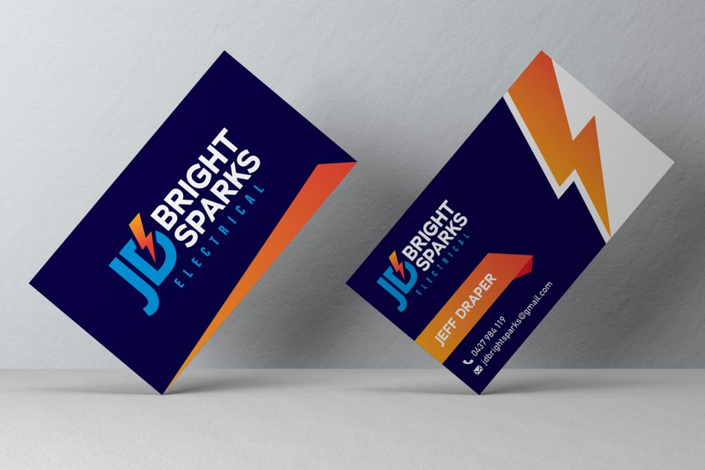 Electrician Business Card Design Melbourne